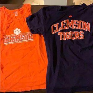 Clemson Tank top and T-shirt bundle!